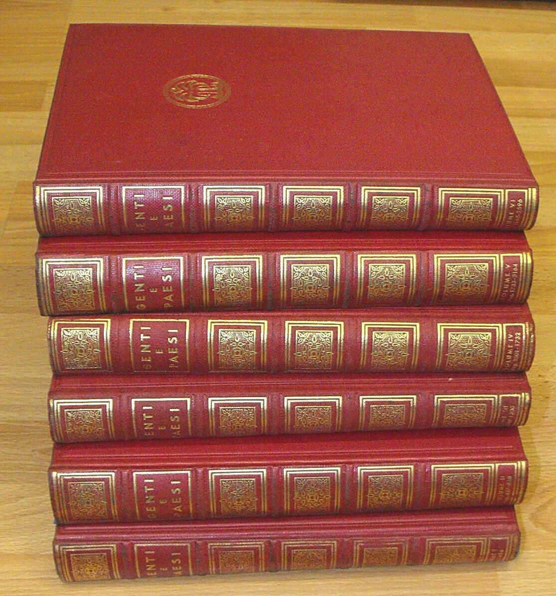 GENTI E PAESI:  MERAVIGLIE E CURIOSITA' DELLA TERRA (volumi I, II, III, IV, V e VI)