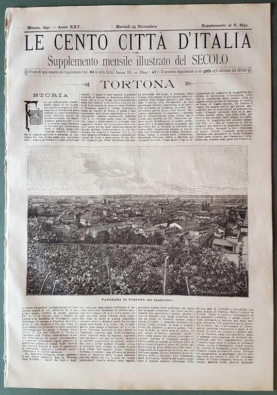 Le cento citt? d'Italia - TORTONA