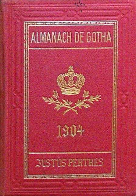 ALMANACH DE GOTHA - ANNUAIRE GENEALOGIQUE, DIPLOMATIQUE ET STATISTIQUE 1904