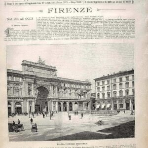 Le cento citt? d'Italia - FIRENZE e NAPOLI