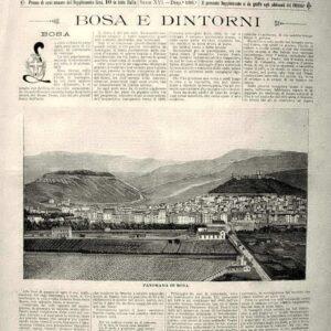 Le cento citt? d'Italia - BOSA E DINTORNI