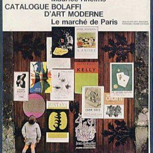 CATALOGUE BOLAFFI D'ART MODERNE 1966 - Le march? de Paris