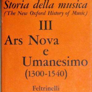 ARS NOVA E UMANESIMO (1300-1540)