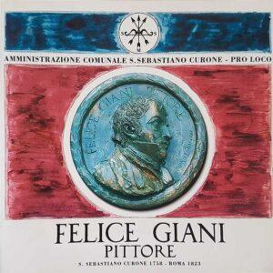 FELICE GIANI PITTORE - S. Sebastiano Curone 1758 - Roma 1823