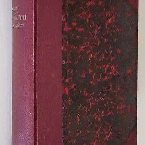 MEMORIE DELLA VITA DI GIOSUE' CARDUCCI (1835-1907) raccolte da un amico (Giuseppe Chiarini)