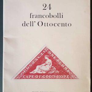 24 FRANCOBOLLI DELL'OTTOCENTO
