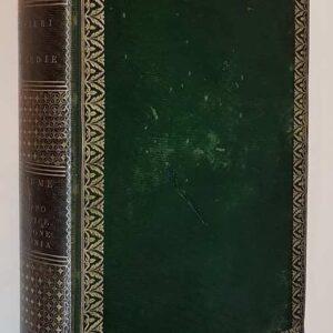 LE TRAGEDIE DI VITTORIO ALFIERI con tavole di rame (volumi I, II, III, IV e V)
