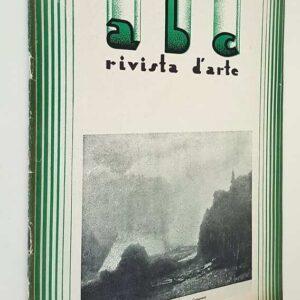 A.B.C. rivista d'arte (anno I) - N. 10 - Ottobre 1932