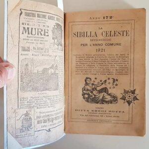 LA SIBILLA CELESTE - Effemeride per l'anno comune 1921 (anno 172.)