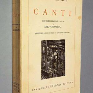 CANTI con introduzione e note di Ezio Chiorboli.