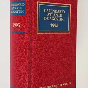 CALENDARIO ATLANTE DE AGOSTINI 1995 (anno 91.)